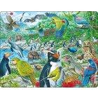 Larsen Lernpuzzle Neuseelands Wildnis