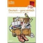 LÜK Deutsch - ganz einfach 1, Heft mit einfachen Wortschatzübungen, 1.-4. Klasse
