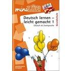 miniLÜK Deutsch lernen - leicht gemacht 1, Heft, 1.-4. Klasse