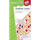miniLÜK Exaktes Lesen, Heft, 1.-2. Klasse