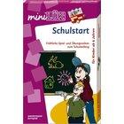 "miniLÜK Set-Schulstart, Doppelband <b style=""color:#E60000"">inkl. Lösungsgerät</b>, bis 1. Klasse"