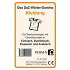 Das DaZ-Wörter-Domino: Kleidung, Kartenspiel, 1.-4. Klasse