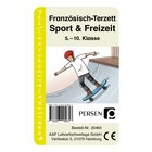 Französisch-Terzett: Sport und Freizeit, Kartenspiel, 5. bis 10. Klasse