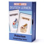 LingoCards Deutsch Lernen Präteritum - unregelmäßige Verben?, Lernspiel, ab 9 Jahre