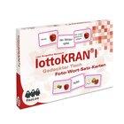 lottoKRAN I Gedeckter Tisch, Foto-Wort-Satz-Karten zur Aphasietherapie