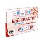 lottoKRAN III Unterwegs, Foto-Wort-Satz-Karten zur Aphasietherapie