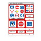 Schiebe- und Aufdeckspieleinlagen - Verkehrszeichen, 4-6 Jahre