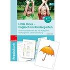 Englisch im Kindergarten - Kombipaket - Praxisbuch & Flash cards, 4-6 Jahre