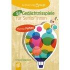 55 Gedächtnisspiele mit Farben für Senior*innen, Spielebuch