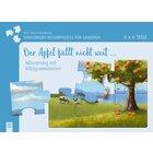 Der Apfel fällt nicht weit…, Sprichwort-Bilderpuzzles für Senioren