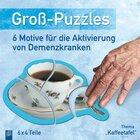 Thema Kaffeetafel, Groß-Puzzles