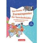 Lernposter für die Vorschule / Das bunte Formenposter für Vorschulkinder, 3-6 Jahre