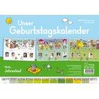 Unser Geburtstagskalender: Jahreslauf, 12 Poster, 1.-4. Klasse
