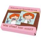Bildkarten zur Sprachförderung - Was stimmt hier nicht?, Bildkarten, 3-7 Jahre