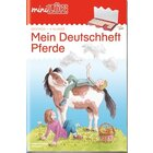 miniLÜK Deutschheft Pferde, Übungsheft, 3. Klasse