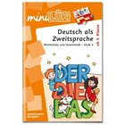 miniLÜK Deutsch als Zweitsprache Stufe 3, Übungsheft, ab 3. Klasse