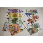 EURO Spielgeld Scheine, 140 Scheine, im Polybeutel