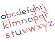 Bewegliches Alphabet, Holzbuchstaben