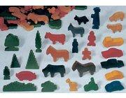 Große Tiere und Figuren
