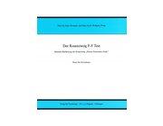 PFT - Der Rosenzweig P-F Test, 14 bis 85 Jahre