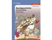 Musikgeschichte auf einen Blick, Broschüre, 5.-13. Klasse
