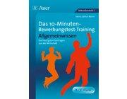 10-Minuten-Bewerbungstest-Training Allgemeinwissen, Buch, 9.-10. Klasse