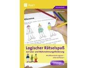 Logischer Rätselspaß ab Klasse 1, Kopiervorlagen mit Lösungen, 1.-4. Klasse