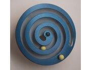Wandspiel Kugel-Spirale blau, ab 3 Jahre