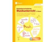 Kompetenzorientierter Musikunterricht, Buch inkl. Audio-CD, 2. Klasse