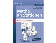 Mathe an Stationen: SPEZIAL Zahlenraum bis 1000000, Broschüre, 1.-4. Klasse