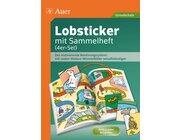 Lobsticker mit Sammelheft (4er-Set), 280 Stück, 1.-4. Klasse