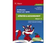 10-Minuten-Rätsel und -Spiele Körper & Gesundheit, Broschüre, 1.-4. Klasse