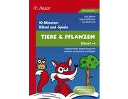 10-Minuten-Rätsel und -Spiele Tiere & Pflanzen, Broschüre, 1.-4. Klasse