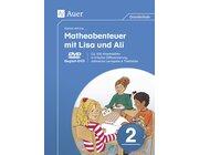 Komm mit ins Matheabenteuer mit Lisa und Ali, Begleit-DVD, 2. Klasse