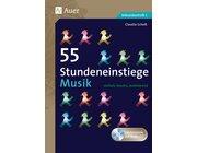 55 Stundeneinstiege Musik, Buch inkl. CD, 5.-10. Klasse