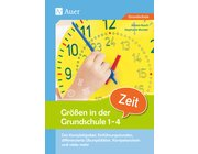 Größen in der Grundschule Zeit, Buch, 1.-4. Klasse