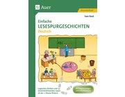 Einfache Lesespurgeschichten Deutsch, Broschüre, 1.-2. Klasse
