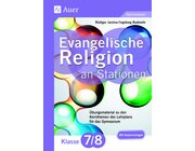 Evangelische Religion an Stationen 7-8 Gymnasium, Buch inkl. CD