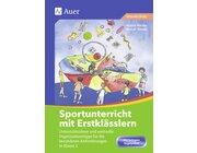 Sportunterricht mit Erstklässlern, Buch inkl. Farbposter DIN A2