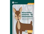 Hörverstehen trainieren - für Zwischendurch, Buch inkl. CD, 2.-4. Klasse