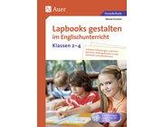 Lapbooks gestalten im Englischunterricht, Buch, 2.-4. Klasse