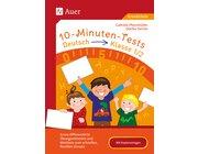 10-Minuten-Tests Deutsch, Buch, 1.-2. Klasse