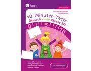 10-Minuten-Tests Deutsch, Buch, 3.-4. Klasse
