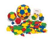 Polydron Basis-Set 164 Teile ohne Kunststoffbox