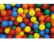 Spiel- und Ballkugeln 60mm, 500er Beutel, 6 Farben