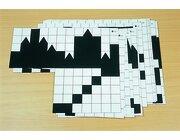 Karten-Set für Schattenbauspiel