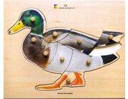Holz-Puzzle Ente, ab 2 Jahre