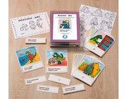Drachen-Abc, Karten mit selbstständiger Lernkontrolle, ab 1. Schuljahr
