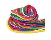 Gymnastik-Springseile 3 m lang, 10 Seile farblich sortiert