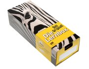 AOL Lernbox DIN A8, Design: Zebra, 10er-Paket
